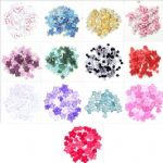 B6167 Mini Craft Buttons: Stars: 2.5g - Full Colour Range